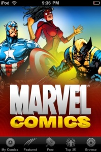 Marvel iPhone App